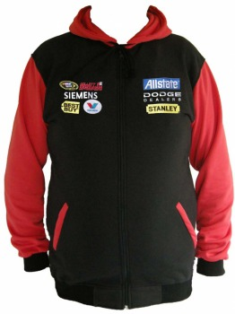 Budweiser Nascar Sweatshirt / Hooded