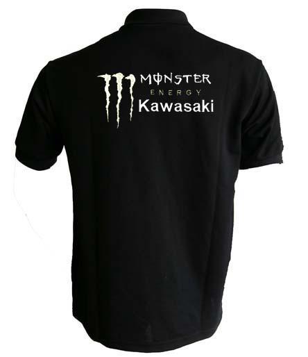 Embroideryshop 2011 Kawasaki Monster Energy Poloshirt